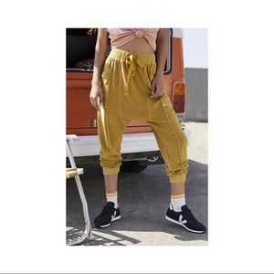 Free People In The Slick of It Harem Pants M